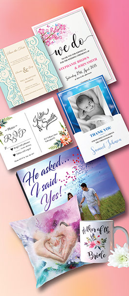 Kdee Designs invitation projects