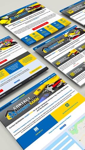 Kdee Designs website design service