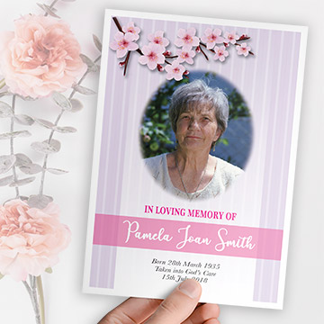 Kdee Designs funeral booklets