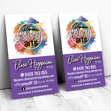 Logo Business card by Kdee Designs