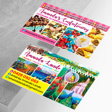 Amanda Lando Business Card design by Kdee Designs
