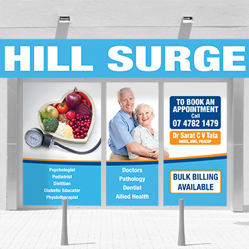 Shop signage design by Kdee Designs