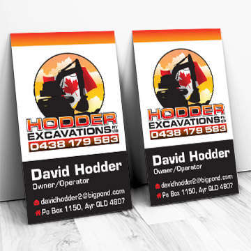 Business Card design by Kdee Designs